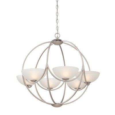 Carlucci 6-Light Globe Pendant