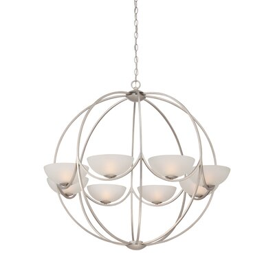 Carlucci 8-Light Globe Pendant