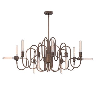Briggs 12-Light Oval Chandelier