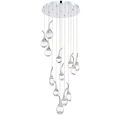 Oz 13-Light LED Cascade Pendant