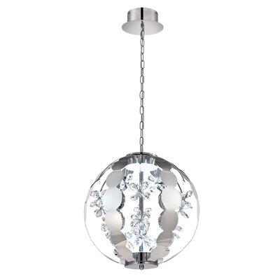 World 2-Light Globe Pendant Size: 34.25 H x 31.5 W x 31.5 D