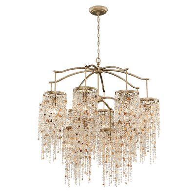 Savannah 12-Light Crystal Chandelier
