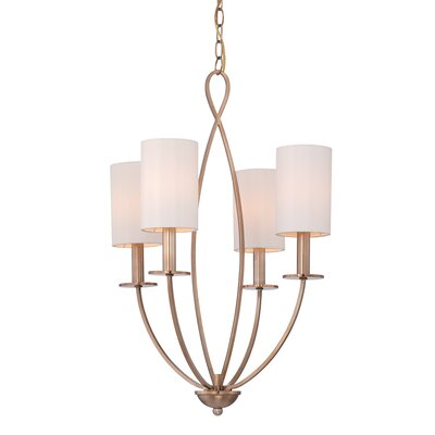 Castana 4-Light Candle-Style Chandelier Finish: Gold