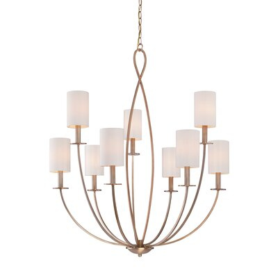 Castana 9-Light Candle-Style Chandelier Finish: Gold