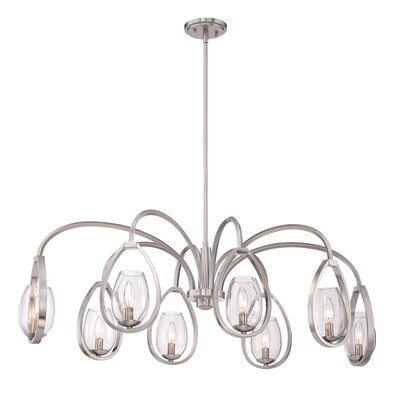 Fantini Oval 8-Light Candle-Style Chandelier
