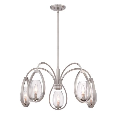Fantini 5-Light Candle-Style Chandelier