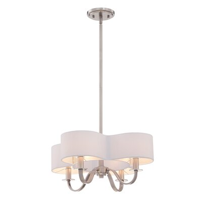 Bertucci 4-Light Drum Chandelier