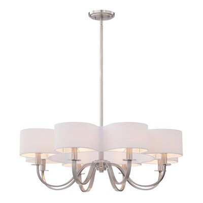 Bertucci 8-Light Drum Chandelier