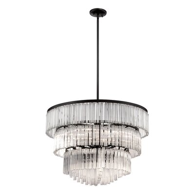 Ziccardi 9-Light Crystal Chandelier