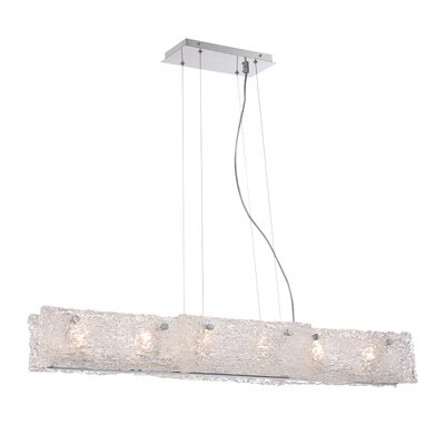 Caramico 6-Light Linear Mini Pendant
