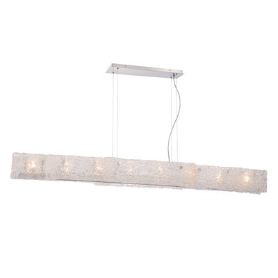 Caramico 8-Light Linear Mini Pendant