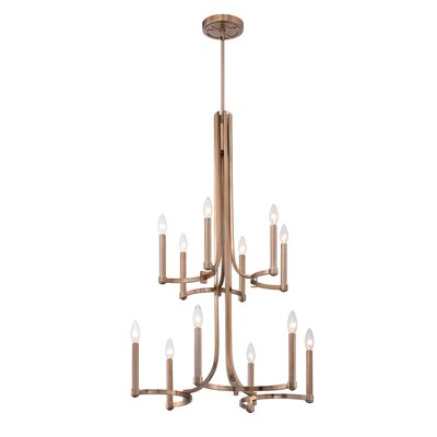 Cantu 12-Light Candle-Style Chandelier