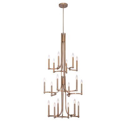 Cantu 18-Light Candle-Style Chandelier