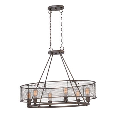 Terra 6-Light Kitchen Island Pendant