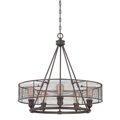 Terra 5-Light Drum Chandelier