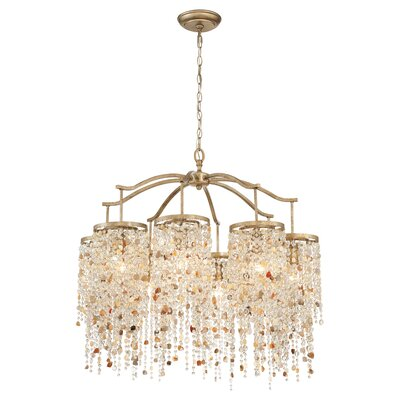 Savannah 8-Light Crystal Chandelier
