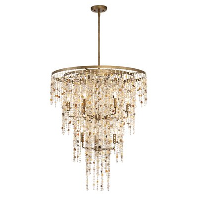 Savannah 9-Light Crystal Chandelier