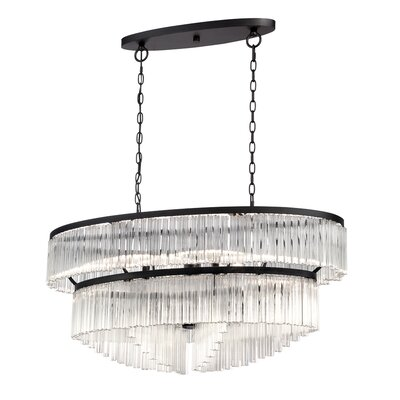 Ziccardi 10-Light Crystal Chandelier
