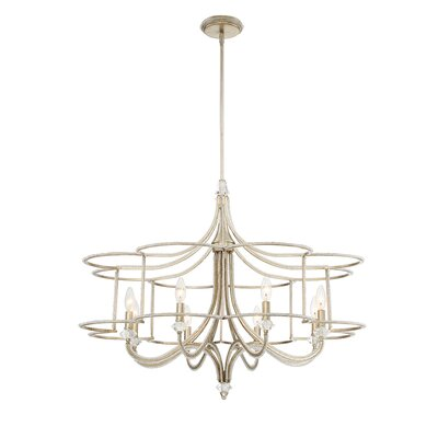 Palmisano 8-Light Candle-Style Chandelier