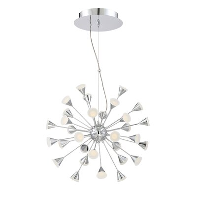 Esplo 32-Light Geometric Pendant