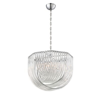 Elise 8-Light Bowl Pendant