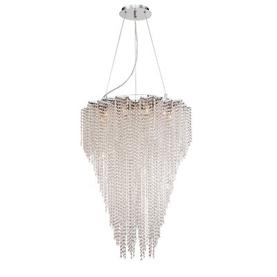 Cohen 10-Light Crystal Pendant