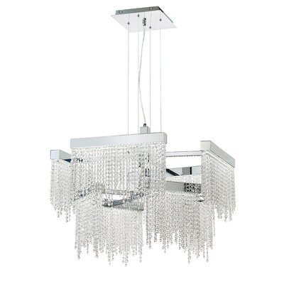 Rossi 8-Light Crystal Pendant