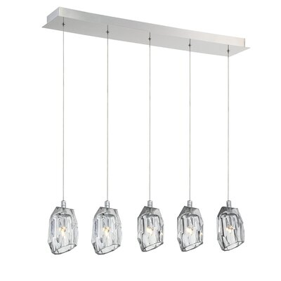 Diffi 5-Light Kitchen Island Pendant