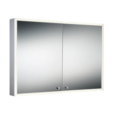 39.75 x 27.5 Surface Mount Flat Edge Medicine Cabinet