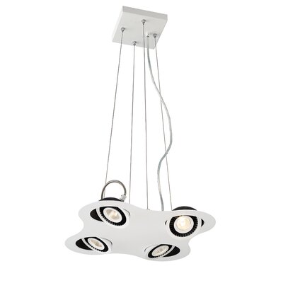 Vision 4-Light Kitchen Island Pendant