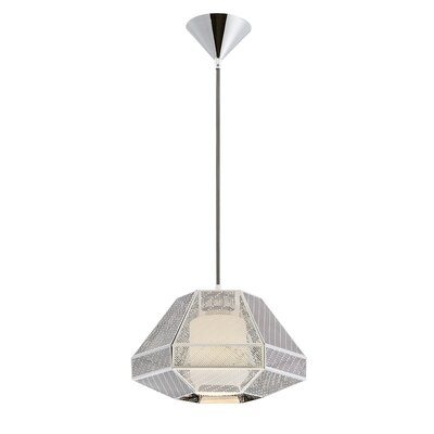 Recinto 1-Light Mini Pendant Finish: Chrome