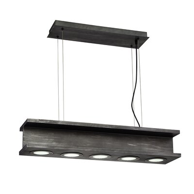 Fascio 5-Light Kitchen Island Pendant