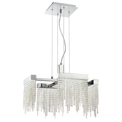 Rossi 4-Light Crystal Pendant