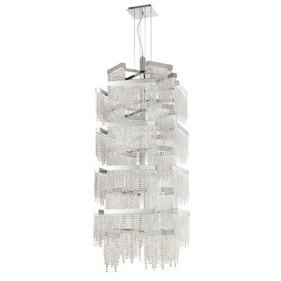Rossi 36-Light Crystal Pendant