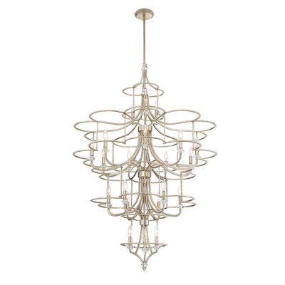 Palmisano 21-Light Candle-Style Chandelier