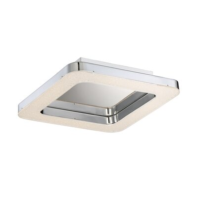 Zatina 1-Light Flush Mount