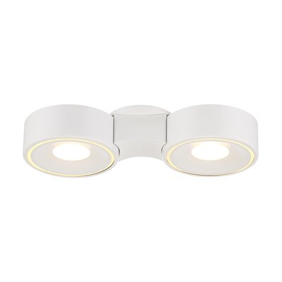 Stavro 2-Light Flush Mount