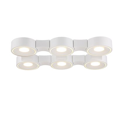 Stavro 6-Light Flush Mount
