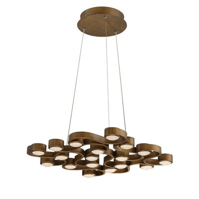 Pallazo 18-Light Kitchen Island Pendant