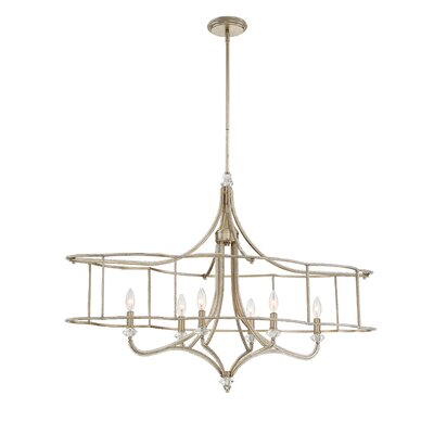 Palmisano 6-Light Crystal Pendant