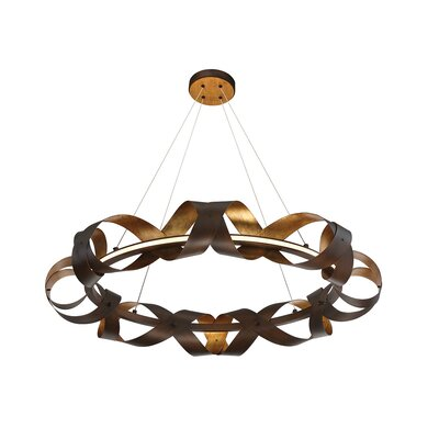 Banderia 1-Light Geometric Pendant
