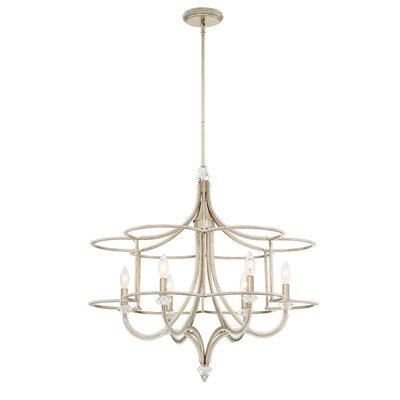 Palmisano 6-Light Candle-Style Chandelier