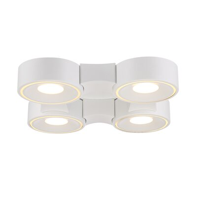 Stavro 4-Light Flush Mount