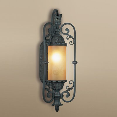 "Eurofase Glenhaven One Light Outdoor Wall Sconce in Antique Iron - Size: 34.5"" H x 19"" W x 13"" D at Sears.com"