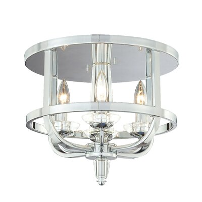 Senze 4-Light Semi Flush Mount