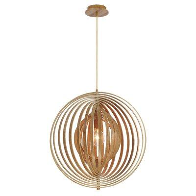 Deanna 1-Light Globe Pendant Size: 24 H x 23.25 W x 23.25 D