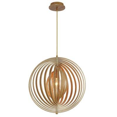 Deanna 1-Light Globe Pendant Size: 20 H x 19.25 W x 19.25 D