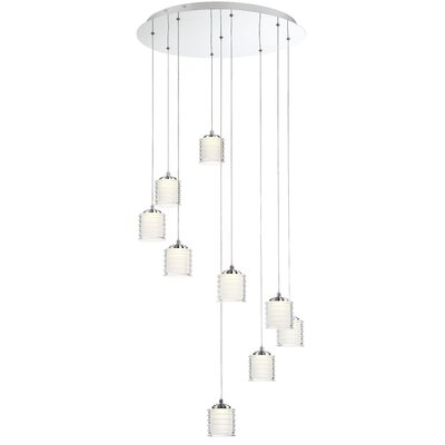 Elene 9-Light LED Cascade Pendant