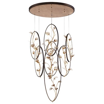 Shirl 7-Light LED Cluster Pendant