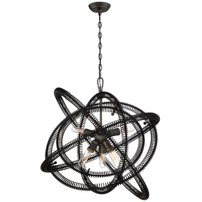 Aicha 6-Light Geometric Pendant